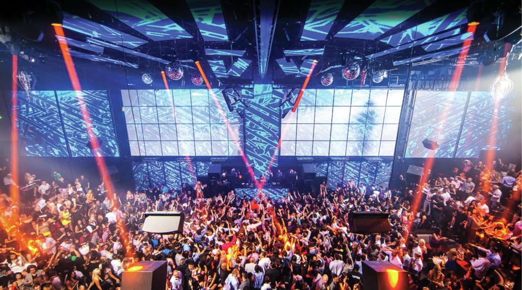 Beta test at Light Nightclub –  Las Vegas, Nevada