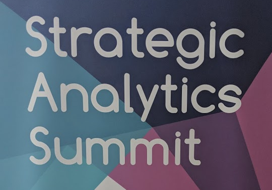 Strategic Analytics Summit – Las Vegas, Nevada