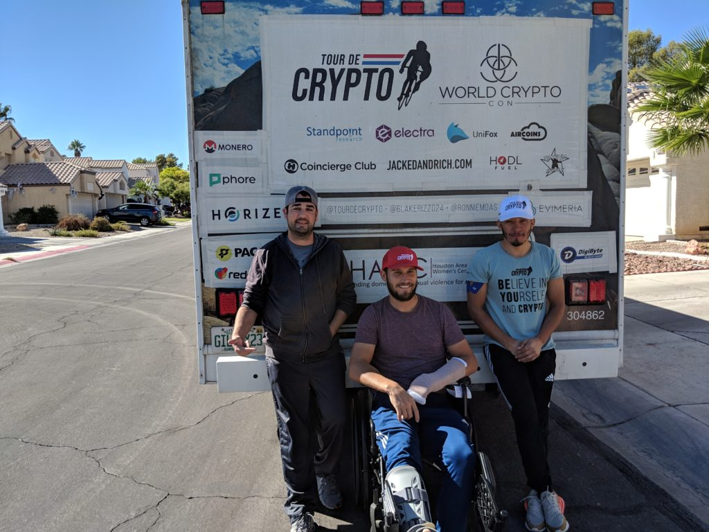 Sponsored Tour de Crypto and co-hosted their welcome party at Aria – Las Vegas, Nevada